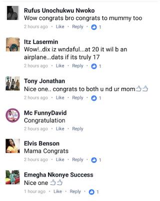 17-Year-Old Nigerian Boy Buys Mum A Car [Photos]