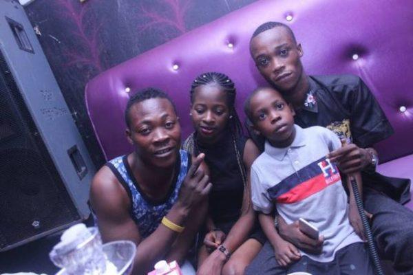 Lady Takes Her Son To Nightclub To Celebrate His Birthday In Ibadan [Photos]