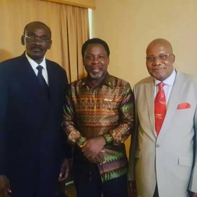 T.B Joshua Visits Zimbabwe, Years Later After He Was Banned by Robert Mugabe
