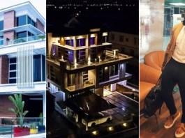 Nigerian Singer, Timaya Shares Photos of His Magnificent Multi-Million Naira Mansion