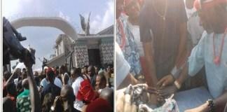 #BBNaija: Miracle Honoured In His Village, Umuoba Uratta [Photos/Video]