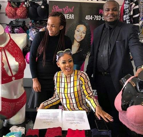 #BBNaija: Nina Bags New Endorsement Deal With 'Slim Girl Shape Wear' [Photos]