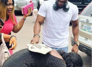 #BBNaija: Tobi Bags a 'Chieftaincy' Title In Enugu [Photos And Video]