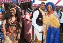 Adorable Photos from the Traditional Wedding Of Actor Michael Okon