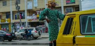 "USA Based Social Media Sensation ""Mama Tobi"" Holds 'Crazy' Photo Shoot in Lagos [Photos]"