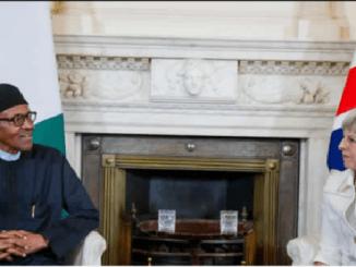 Angry Nigerians Protest, As UK Betrays Atiku, Endorses Buhari, Despite Massive Rigging