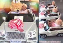 "Khloe Kardashian's Daughter ""True Thompson"" Gets Mini Bentley [Photos]"