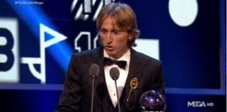 BREAKING: Croatia captain, Luka Modric Wins FIFA Men's Player Award