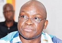 Former Ekiti Governor, Fayose Involved In Accident on Third Mainland Bridge