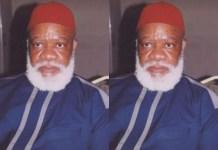 Late Dim Chukwuemeka Odumegwu-Ojukwu's, First Son, Sylvester Debe Ojukwu Is Dead