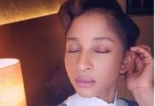 Actress, Adesua Etomi Shares Make-Up Free Photo