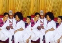 Lagos Number 1 Agbero, MC Oluomo, Proudly Celebrates His Three Wives on Valentine's Day