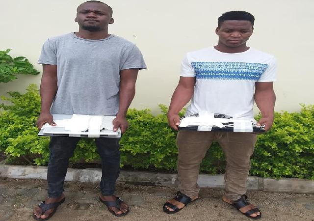 EFCC Arrest Two Internet Fraudsters in Kaduna