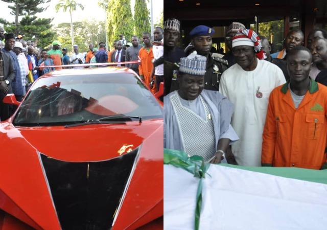 25-Year-Old Nigerian Man Manufactures Nigeria's First Carbon Fiber Car [Photos]