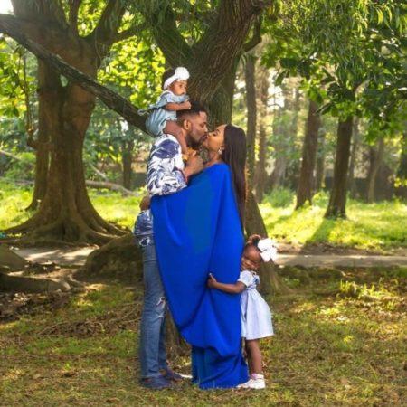 Lovely Beautiful Family Photos of Ebuka Obi-Uchendu and His Family