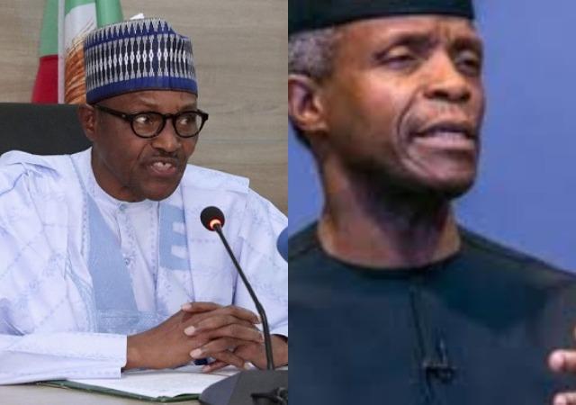 "Buhari Sends A ""Thank You"" Massage To  Osinbajo For Making Nigeria Proud"