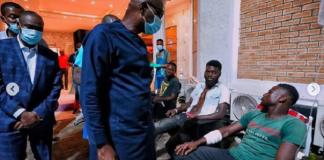 Sanwo-Olu Visits #EndSARS Protesters in hospital, Denies Ordering the Killing of Peaceful Protesters