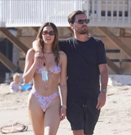 19-Year-Old Amelia Hamlin Hits the Beach with Scott Disick, 37