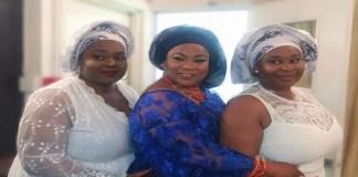 Stunning Photos of Twin Daughters of Nollywood Actress, Sola Sobowola