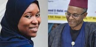 Aisha Yesufu Calls out Governor El-Rufai over Insecurity in Kaduna