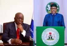 Buhari Congratulates Ghana President on Re-election