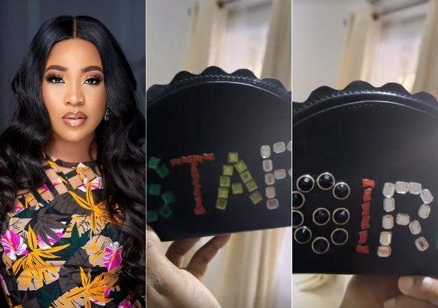 Erica Flaunts Her Customized Portable 'Star Girl' Handbag