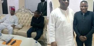 Fani-Kayode Meets Activist, Sunday Igboho In His Home In Ibadan