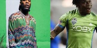Burna Boy Under serious Attack for 'Disrespecting' Obafemi Martins