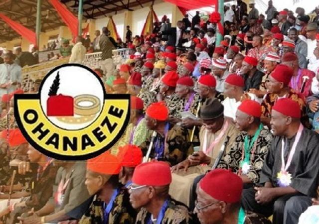 Ohanaeze Calls for Calm On Clash Between Ebubeagu and ESN