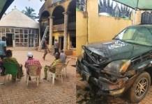 Unknown Gunmen Razed Palace of Igwe Ifitedunu in Dunukofia