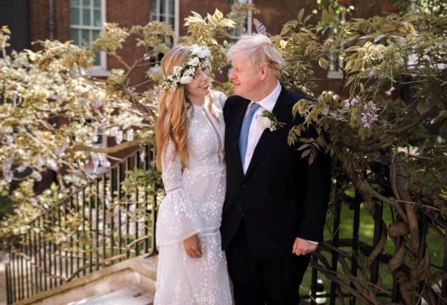 British PM Boris Johnson Marries Fiancee, Carrie Symonds in Secret Wedding