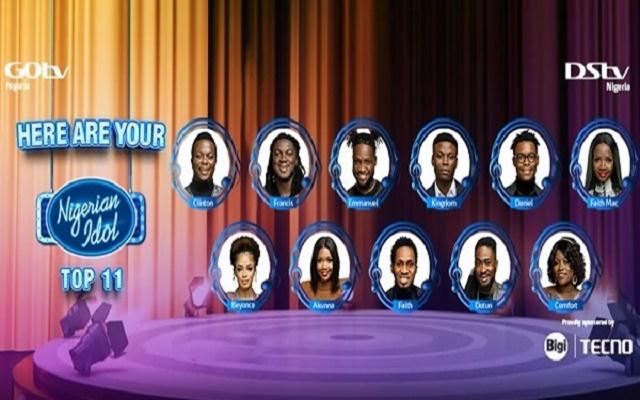 Meet Nigerian Idols' Top Final 11 Contestants