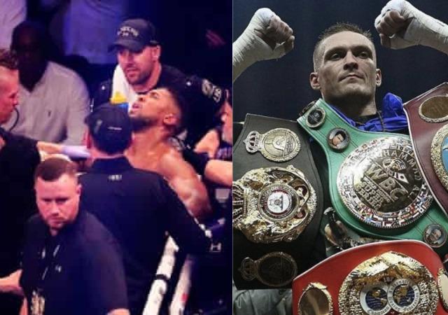 Oleksandr Usyk wins Anthony Joshua in london, now the new heavyweight champion [photos]