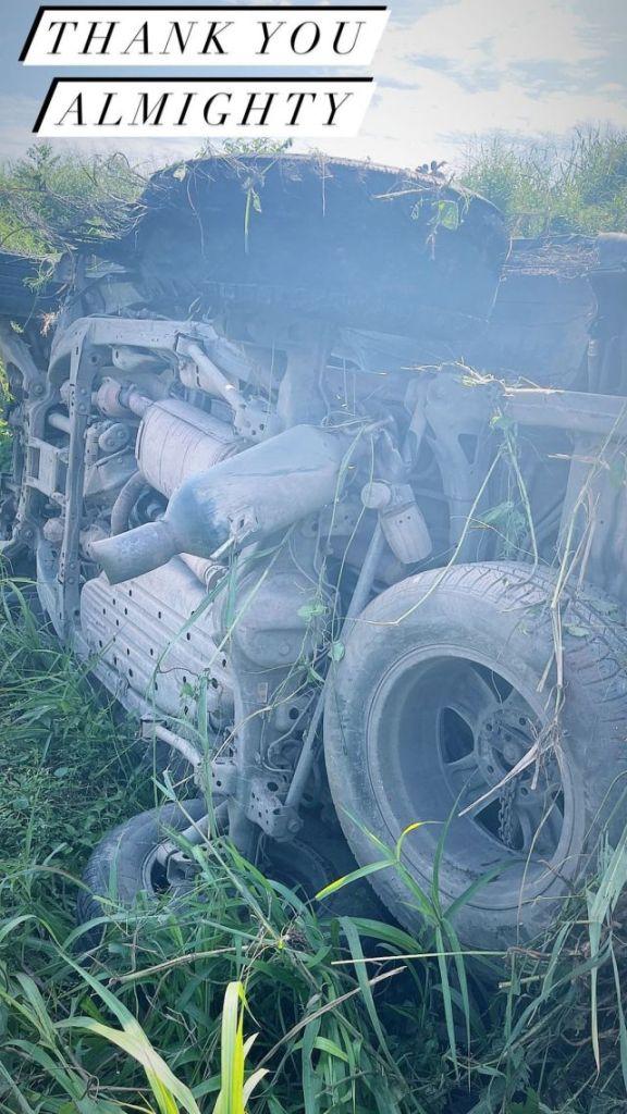 Singer, Oritsefemi Involved In Ghastly Motor Accident [Video]