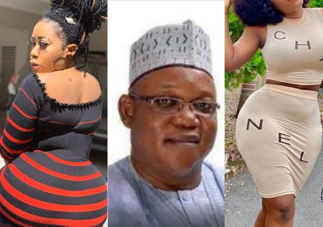 Sugar babies: Destiny Etiko, Moyo Lawal and Jackie Appiah in allege Romance Scandal with Taraba politician, David Sabo