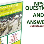 Nigerian Prisons Service (NPS) Past Questions and Answers Free