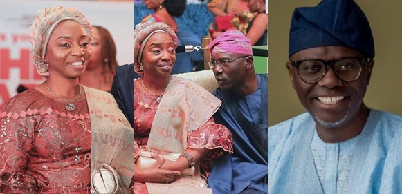 'You are My Queen, My Peace!' – Sanwo-Olu Celebrates Wife on her Birthday