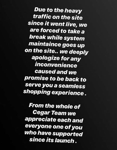 Bbnaija Cee-c's Sportswear Site Shuts Down As She Sold Out Within 24hours Of Opening
