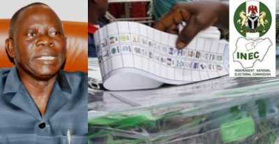 APC chairman, Adams Oshiomhole, blasts INEC over election postponement