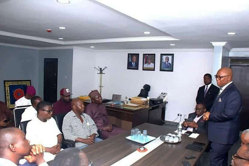 5c9106e41a8e8 - [Pictures]: Minister For Health, Prof. Isaac Adewole, Hosts Baba Suwe