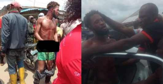 Man caught while trying to use 6-year-old for rituals In Delta (Photos)