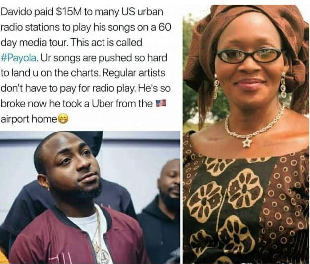 Exclusive! Davido is broke after paying $15million to trend in US – Kemi Olunloyo Reveals 3