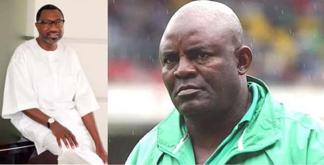 Femi Otedola presents $50,000 cheque to Christian Chukwu