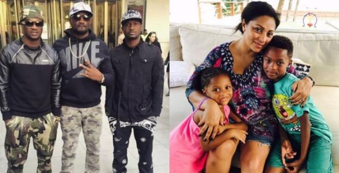 """""""I choose my wife and kids over my brothers'' - Peter Okoye"""