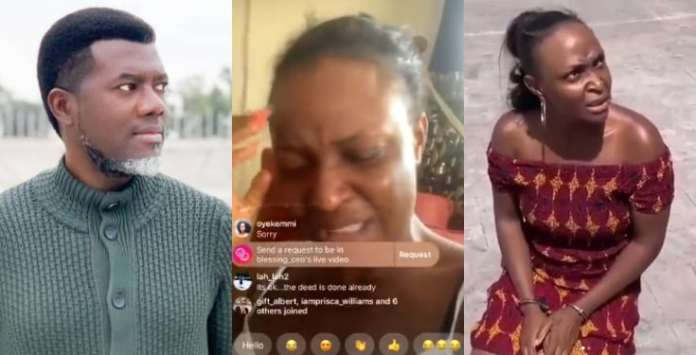 Please do not contemplate suicide - Reno Omokri reaches out to Blessing Okoro