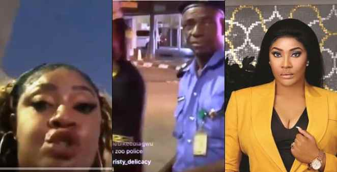Angela Okorie 'fights' policeman who said she will die