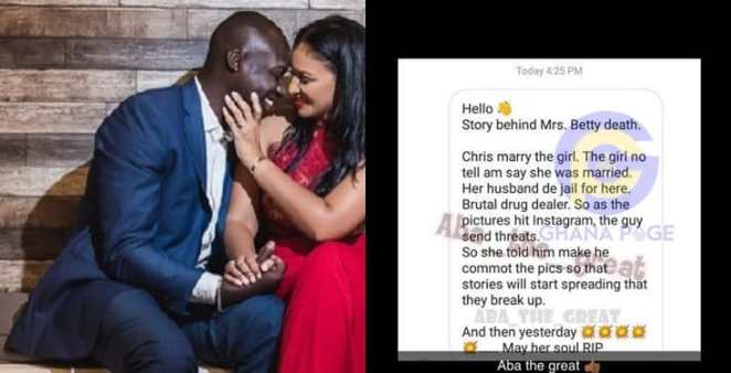 Chris Attoh's wife was shot by her drug boss ex-hubby - Source