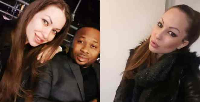 Olakunle Churchill's alleged white girlfriend finally speaks