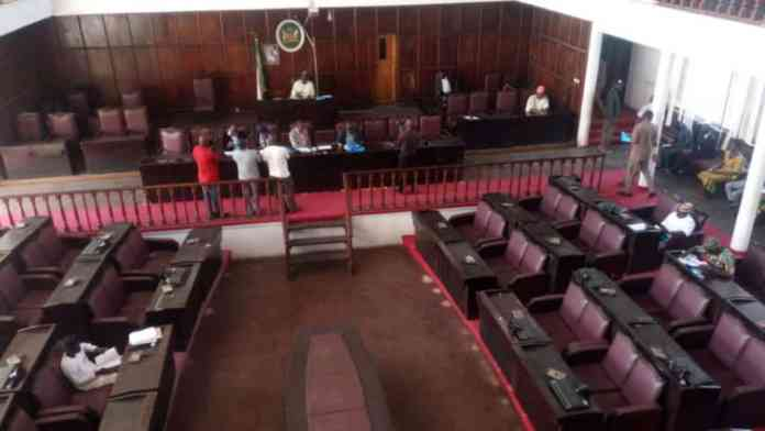 Great Pandemonium As Three Snake Chase Lawmakers Out Of House Of Assembly