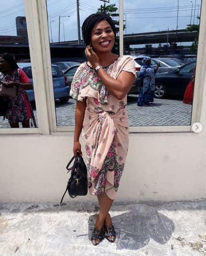 Actress Damilola Abidoye reveals what a teacher did to her son in Lagos